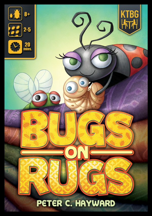 Buy Bugs on Rugs only at Bored Game Company.