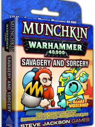 Buy Munchkin Warhammer 40,000: Savagery and Sorcery only at Bored Game Company.
