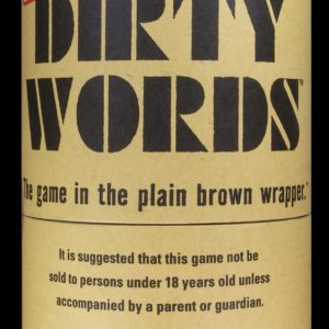 Buy Dirty Words only at Bored Game Company.