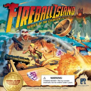 Buy Fireball Island: The Curse of Vul-Kar – Wreck of the Crimson Cutlass only at Bored Game Company.