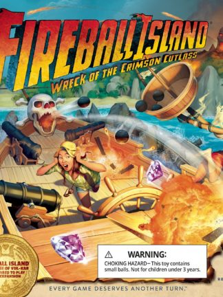 Buy Fireball Island: The Curse of Vul-Kar – Wreck of the Crimson Cutlass only at Bored Game Company.