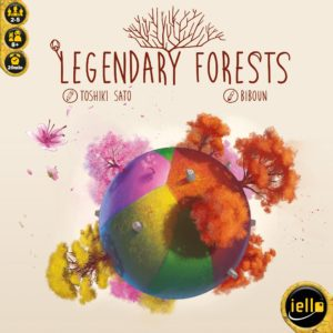 Buy Legendary Forests only at Bored Game Company.