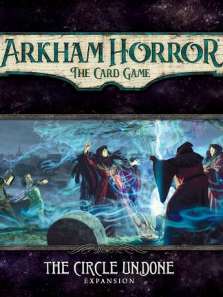 Buy Arkham Horror: The Card Game – The Circle Undone: Expansion only at Bored Game Company.
