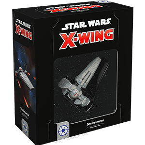 Buy Star Wars: X-Wing (Second Edition) – Sith Infiltrator Expansion Pack only at Bored Game Company.