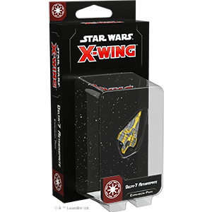 Buy Star Wars: X-Wing (Second Edition) – Delta-7 Aethersprite Expansion Pack only at Bored Game Company.