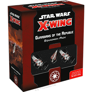 Buy Star Wars: X-Wing (Second Edition) – Guardians of the Republic Squadron Pack only at Bored Game Company.