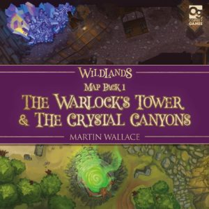 Buy Wildlands: Map Pack 1 – The Warlock's Tower & The Crystal Canyons only at Bored Game Company.