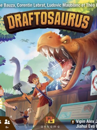 Buy Draftosaurus only at Bored Game Company.
