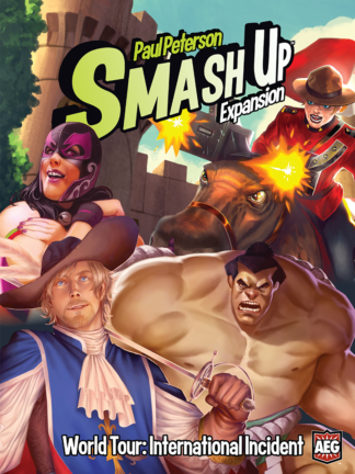 Buy Smash Up: World Tour – International Incident only at Bored Game Company.