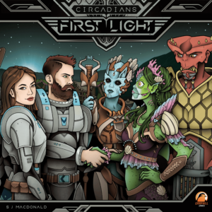 Buy Circadians: First Light only at Bored Game Company.