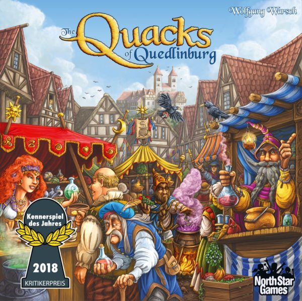 Buy The Quacks of Quedlinburg only at Bored Game Company.