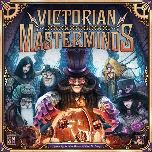 Buy Victorian Masterminds only at Bored Game Company.