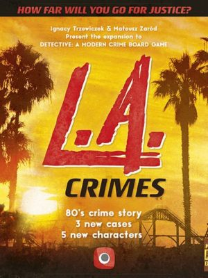Buy Detective: L.A. Crimes only at Bored Game Company.
