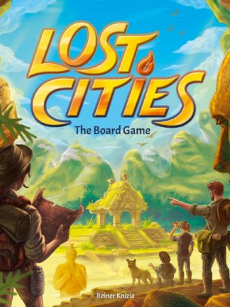 Buy Lost Cities: The Board Game only at Bored Game Company.