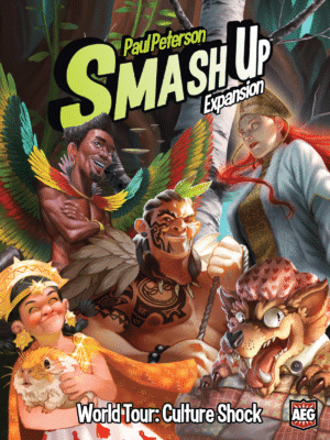 Buy Smash Up: World Tour – Culture Shock only at Bored Game Company.