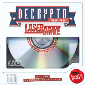 Buy Decrypto: Expansion #01 – Laserdrive only at Bored Game Company.