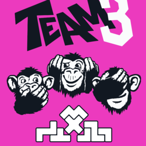 Buy TEAM3 PINK only at Bored Game Company.