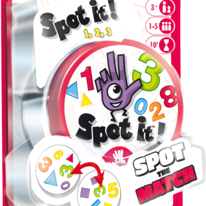 Buy Spot it! 1,2,3 only at Bored Game Company.