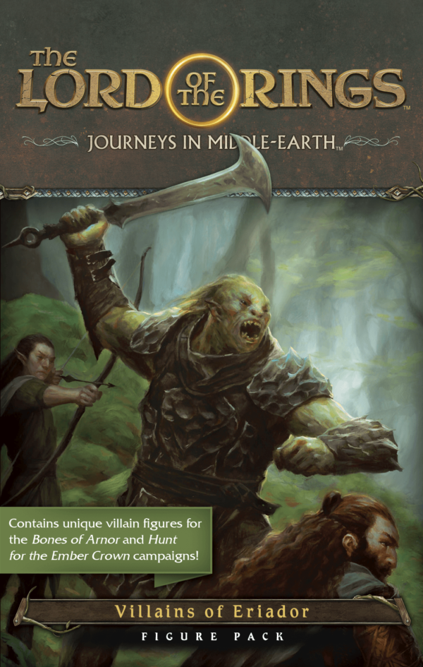 Buy The Lord of the Rings: Journeys in Middle-earth – Villains of Eriador Figure Pack only at Bored Game Company.