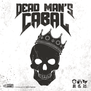 Buy Dead Man's Cabal only at Bored Game Company.