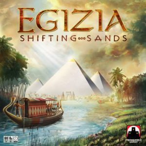 Buy Egizia: Shifting Sands only at Bored Game Company.
