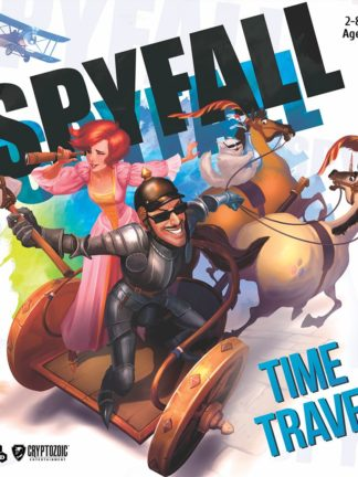 Buy Spyfall: Time Travel only at Bored Game Company.
