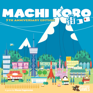 Buy Machi Koro only at Bored Game Company.