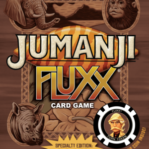 Buy Jumanji Fluxx only at Bored Game Company.
