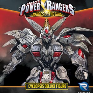 Buy Power Rangers: Heroes of the Grid – Cyclopsis Deluxe Figure only at Bored Game Company.