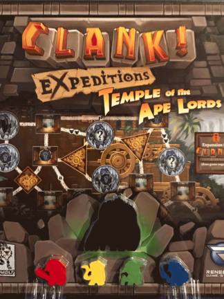 Buy Clank! Expeditions: Temple of the Ape Lords only at Bored Game Company.