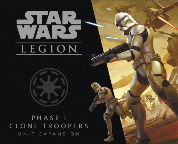 Buy Star Wars: Legion – Phase I Clone Troopers Unit Expansion only at Bored Game Company.
