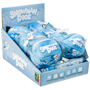 Buy Snowman Dice only at Bored Game Company.