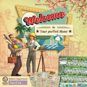 Buy Welcome To...: Spring Thematic Neighborhood only at Bored Game Company.