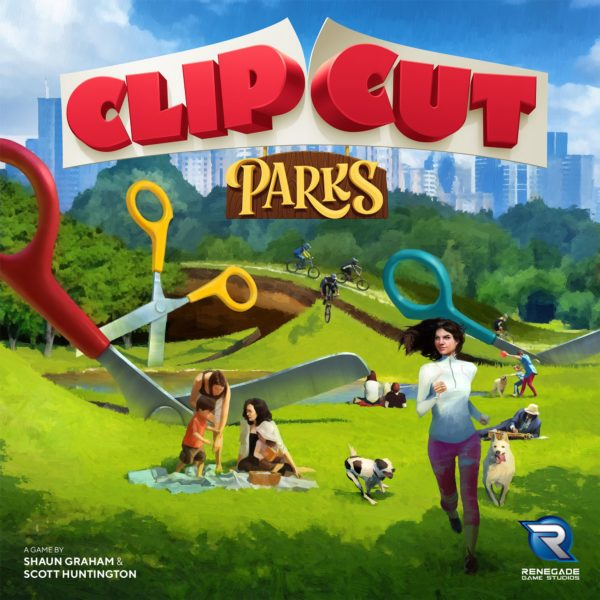 Buy ClipCut Parks only at Bored Game Company.