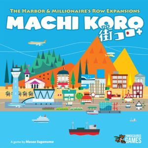 Buy Machi Koro: The Harbor & Millionaire's Row Expansions only at Bored Game Company.