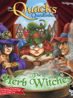 Buy The Quacks of Quedlinburg: The Herb Witches only at Bored Game Company.