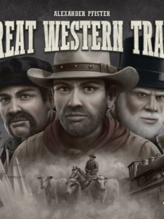 Buy Great Western Trail only at Bored Game Company.