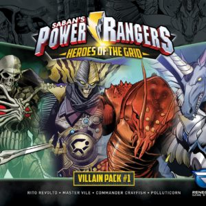 Buy Power Rangers: Heroes of the Grid – Villain Pack #1 only at Bored Game Company.