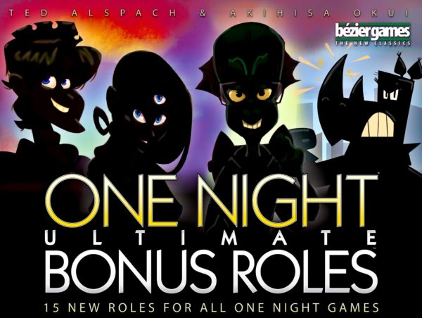 Buy One Night Ultimate: Bonus Roles only at Bored Game Company.