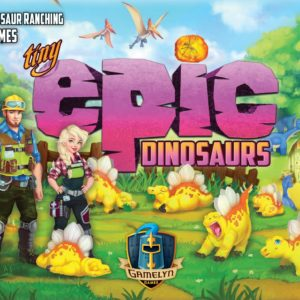 Buy Tiny Epic Dinosaurs only at Bored Game Company.