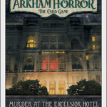 Buy Arkham Horror: The Card Game – Murder at the Excelsior Hotel: Scenario Pack only at Bored Game Company.