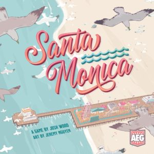 Buy Santa Monica only at Bored Game Company.