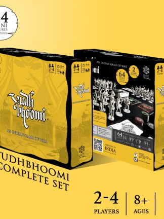 Buy Yudhbhoomi: An Indian Game of War only at Bored Game Company.
