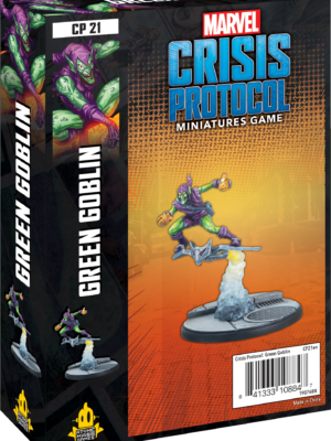 Buy Marvel: Crisis Protocol – Green Goblin only at Bored Game Company.