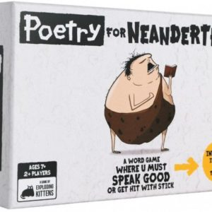 Buy Poetry for Neanderthals only at Bored Game Company.