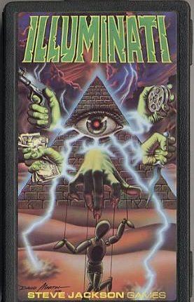 Buy Illuminati only at Bored Game Company.