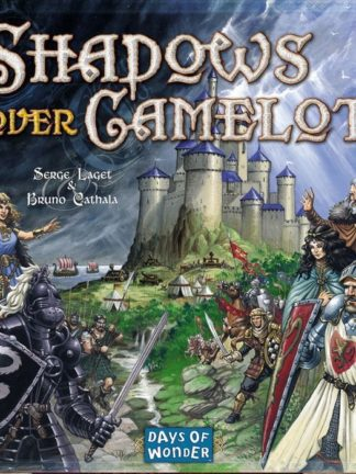 Buy Shadows over Camelot only at Bored Game Company.