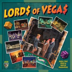Buy Lords of Vegas only at Bored Game Company.