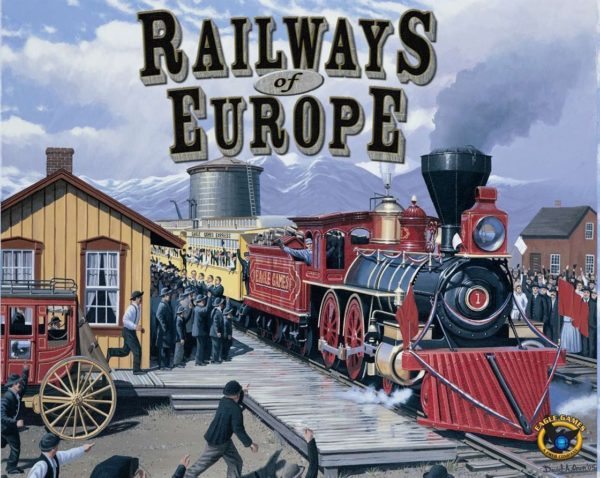 Buy Railways of Europe only at Bored Game Company.