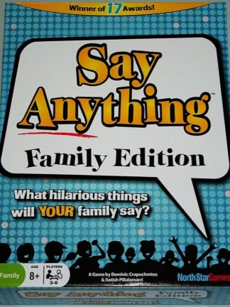 Buy Say Anything Family Edition only at Bored Game Company.